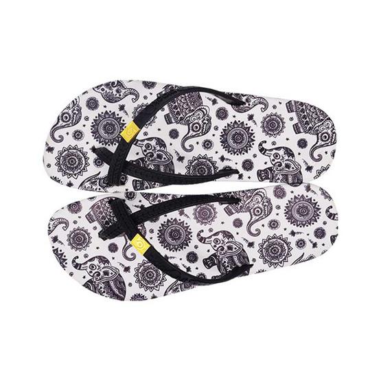 BlackOut รองเท้า รุ่น Toeloop ลายช้างไทย