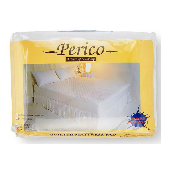 Perico ผ้ารองกันเปื้อน  สีขาว