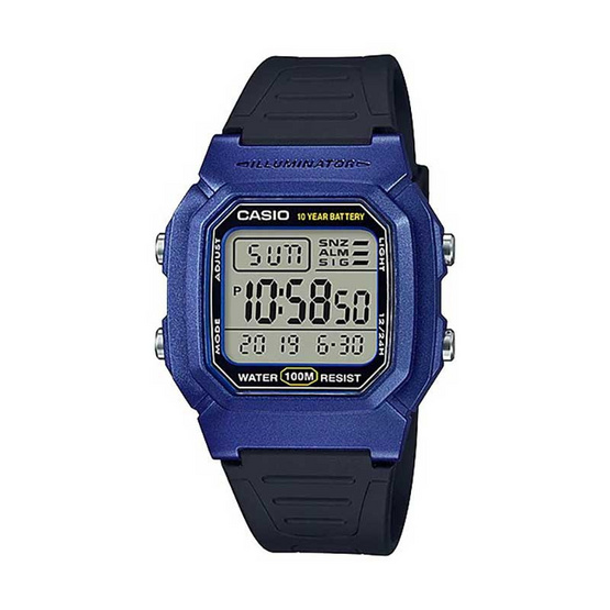 Casio นาฬิกาข้อมือ รุ่น W-800HM-2AVDF