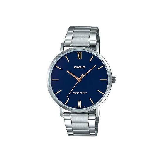 Casio นาฬิกาข้อมือ รุ่น MTP-VT01D-2BUDF