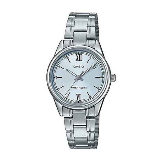 Casio นาฬิกาข้อมือ รุ่น LTP-V005D-2B3