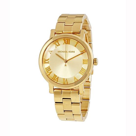 Michael MK3560 Norie Ladies Gold Tone Watch 38MM [MCMK3560]