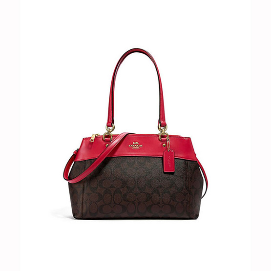 COACHF25396 BROOKE CARRYALL LEATHER (IML72) [MCF25396IML72]