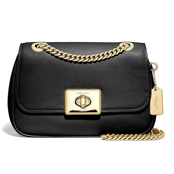 COACHF73089 MINI CASSIDY CROSSBODY (IMBLK) [MCF73089IMBLK]