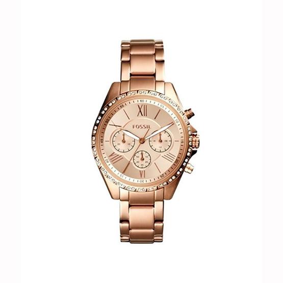 Fossil BQ3377 Women's Modern Courier Stainless Steel Chronograph Dress Quartz Watch [MCBQ3377]