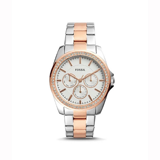 Fossil BQ3420 Fossil Janice Multifunction Two-Tone Stainless Steel Watch [MCBQ3420]