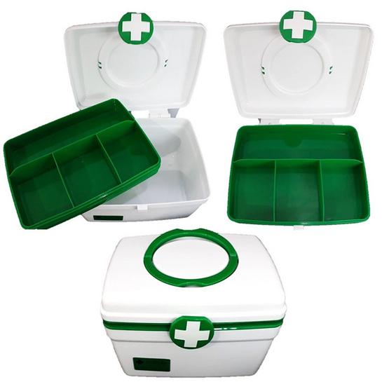Abloom กล่องยาปฐมพยาบาล รุ่น 2 ชั้น Size M