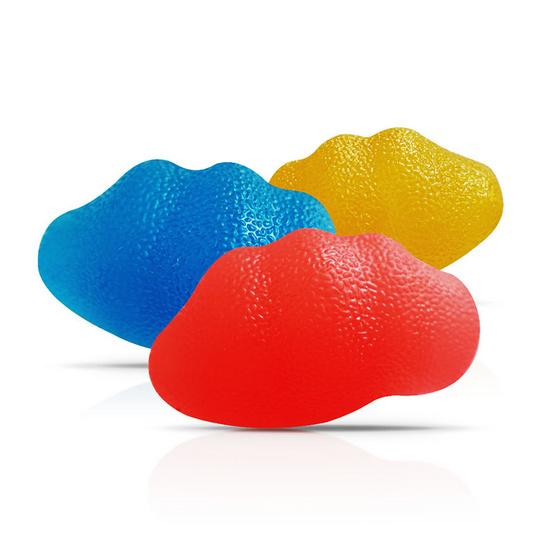 Abloom ลูกบอลเจลบริหารมือทรงหอย คละสี