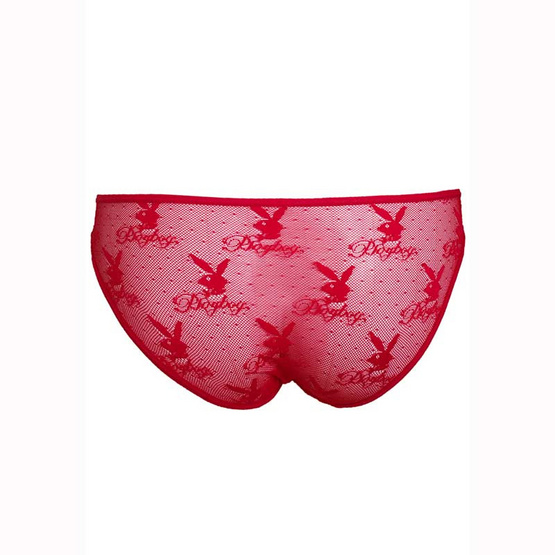 Playboy Intimates กางเกงชั้นในบิกินี สีแดง