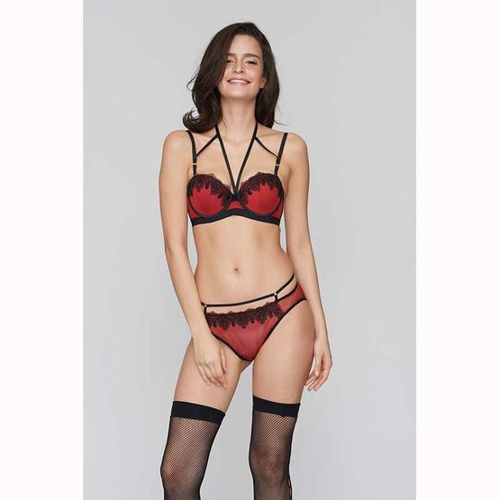Playboy Intimates กางเกงชั้นในทรงบิกินี สีดำ