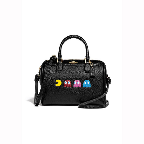 กระเป๋า COACH F72906 MICRO BENNETT SATCHEL WITH PAC-MAN ANIMATION (IMA47) [MCF72906IMA47]