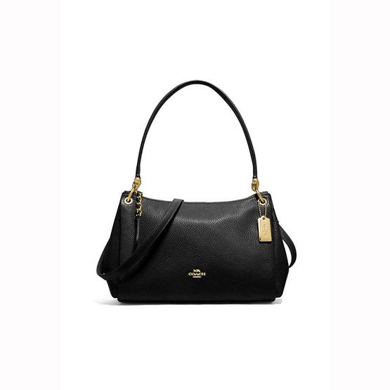 กระเป๋า COACH F73196  SMALL MIA SHOULDER BAG (IMBLK) [MCF73196IMBLK]