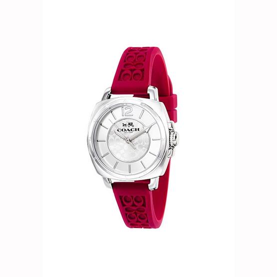 นาฬิกา Coach 14503145 Boyfriend, Women's Watch, Stainless Steel Case, Silicone Strap, Japanese Quartz [MC14503145]