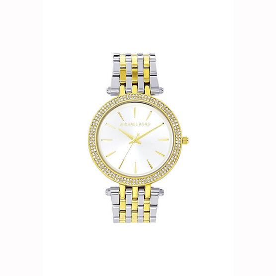 นาฬิกา Michael MK3215 Darci Silver Dial Two-tone Ladies Watch [MCMK3215]