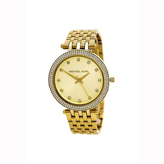 นาฬิกา Michael MK3216 Darci Gold-Tone Glitz Dial Watch [MCMK3216]