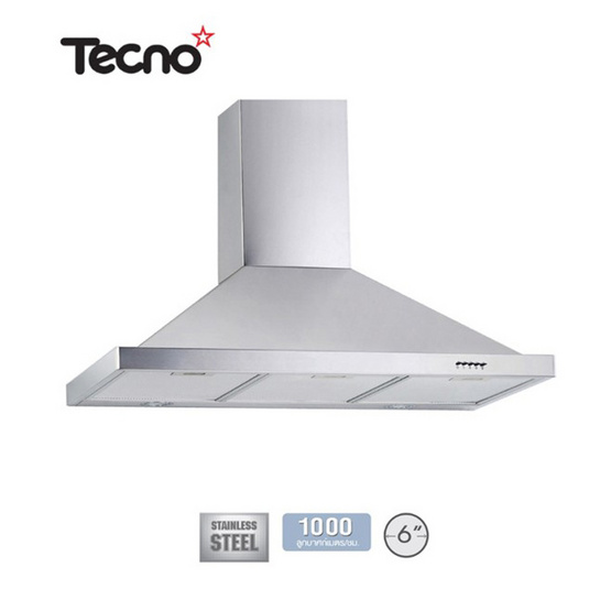 TECNO เครื่องดูดควัน TNS HD 90 SS