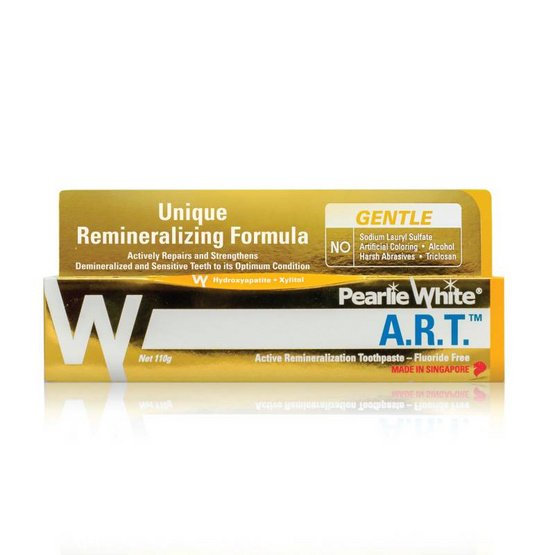 PEARLIE WHITE ยาสีฟัน A.R.T. ACTIVE REMINERALIZATION 110g.