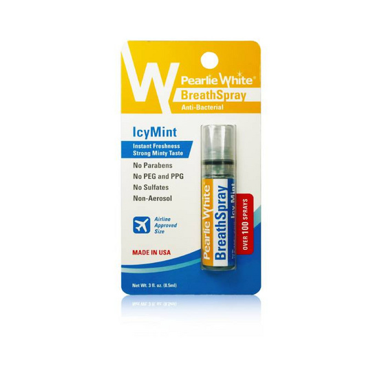 PEARLIE WHITE สเปรย์ดับกลิ่นปาก ICYMINT 8.5ml.