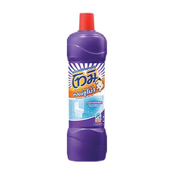โทมิ น้ำยาล้างห้องน้ำ สูตรซูเปอร์ซูโม่ สีม่วง 850 มล.