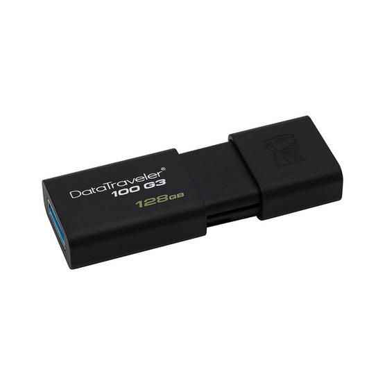 Kingston แฟลชไดร์ฟ DataTraveler DT100 G3 128GB