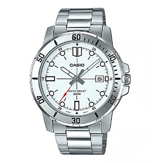 CASIO นาฬิกาข้อมือผู้ชาย รุ่น MTP-VD01D-7EVUDF