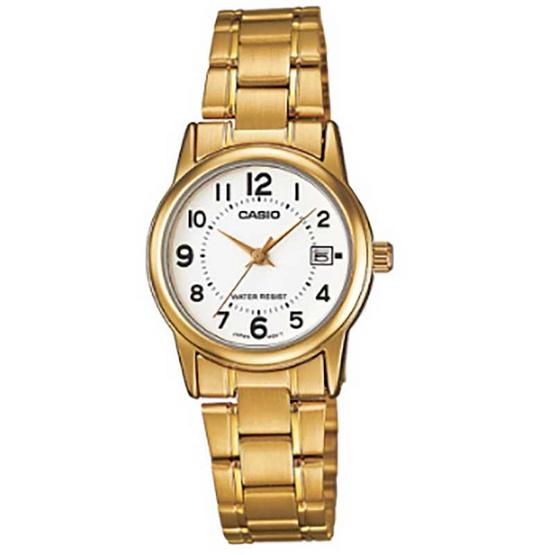 Casio นาฬิกาข้อมือหญิง LTP-V002G-7BUDF