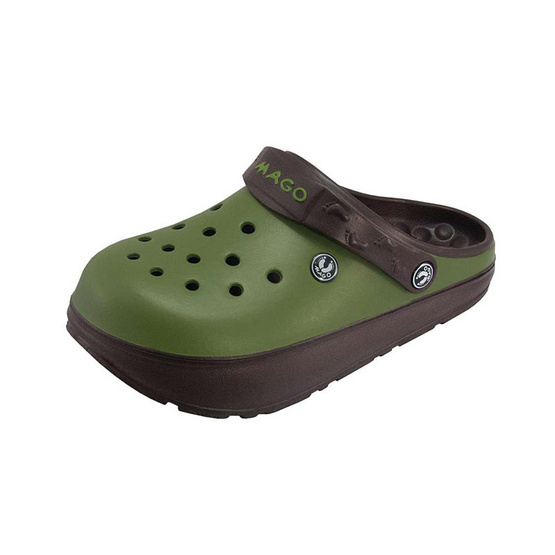 MAGO รุ่น BAMBO สีเขียว รองเท้าสุขภาพ