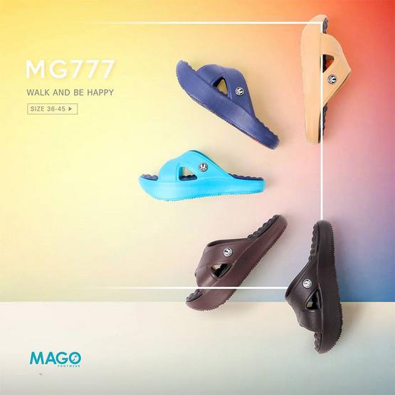 MAGO รุ่น MG777 สีกาแฟ รองเท้าสุขภาพ