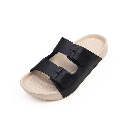 MAGO รุ่น De'BEAN สีดำ รองเท้าสุขภาพ