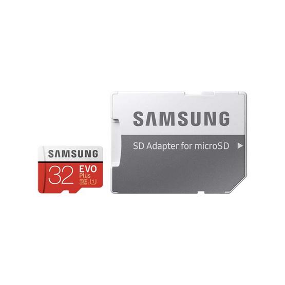 Samsung เมมโมรี่ MicroSD Card 32GB รุ่น Evo Plus