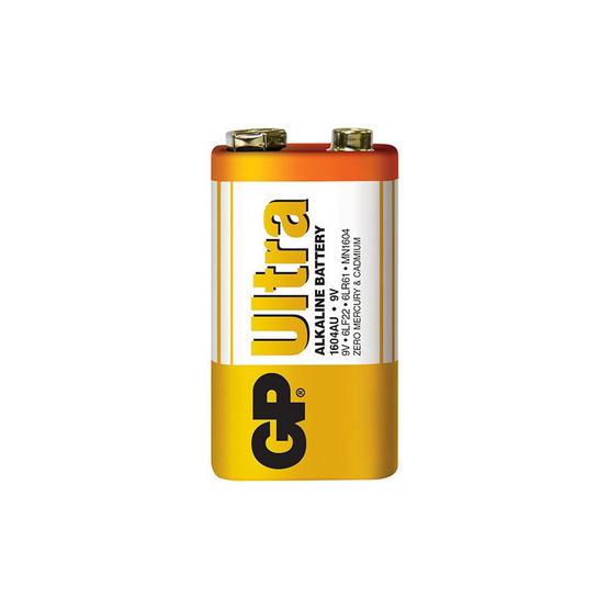 GP ถ่าน รุ่น Ultra Alkaline 9V 1 ก้อน