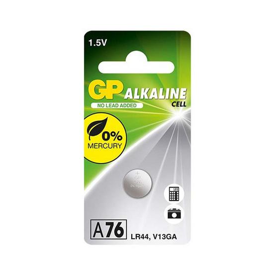 GP ถ่านเม็ดกระดุม รุ่น Alkaline Button Cell no.A76 10 ก้อน