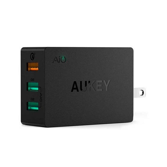 Aukey หัวชาร์จ Aipower 2Port QC3.0 1Port รุ่น PA-T14