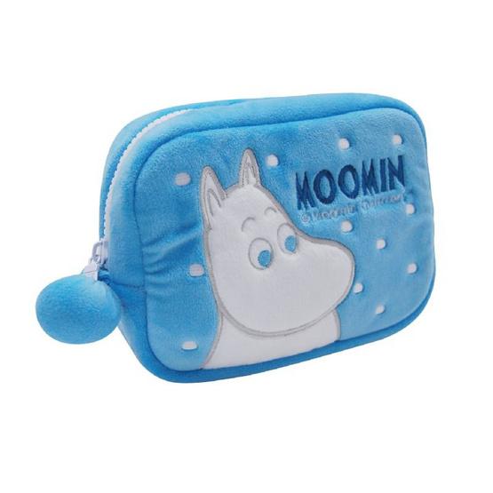 Moomin กระเป๋ามูมินใบสั้น สีฟ้า