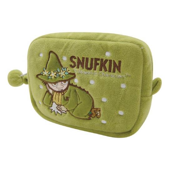 Moomin กระเป๋าสนั๊ฟกิ้นใบสั้น สีเขียว