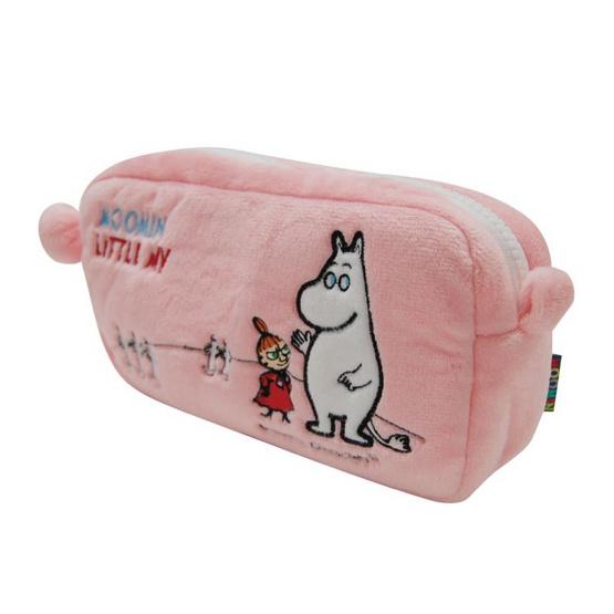 Moomin กระเป๋ามูมินกับลิตเติ้ลมายใบยาว สีชมพู