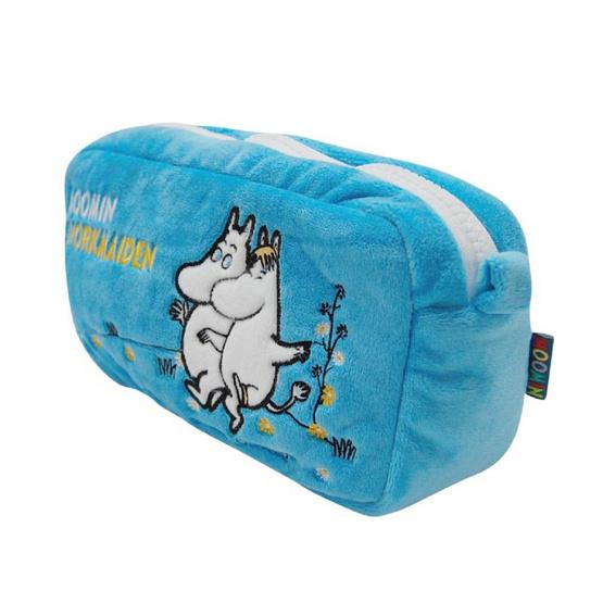 Moomin กระเป๋ามูมินกับสน็อกไมเดนใบยาว สีฟ้า
