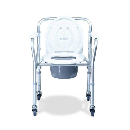 Fasicare เก้าอี้นั่งถ่าย พร้อมอาบน้ำ รุ่น W-02 ปรับสูงต่ำได้