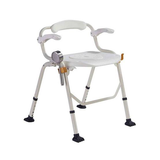 Fasicare เก้าอี้นั่งถ่าย พร้อมอาบน้ำ รุ่น W-9 คร่อมชักโครกได้