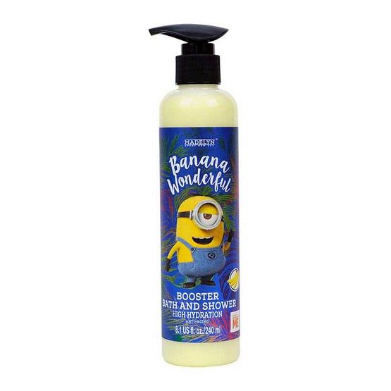 Madelyn มินเนี่ยน ครีมอาบน้ำ กลิ่นกล้วย 240 มล. (1แถม1)