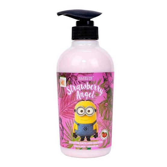 Madelyn มินเนี่ยน ครีมอาบน้ำ กลิ่นสตรอเบอร์รี่ 500 มล. (1แถม1)
