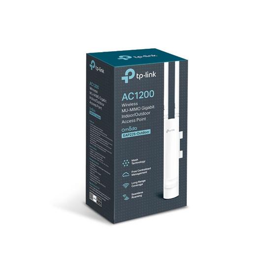 TP-Link Access Point EAP225 OUTDOOR AC1200 Wireless Dual Band Gigabit Outdoor