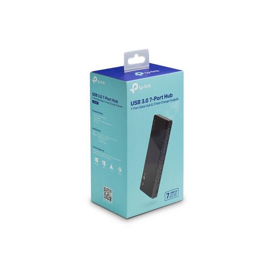 TP-Link สวิชต์ฮับ รุ่น UH700 7-Port USB 3.0 Hub, 7 USB 3.0 ports