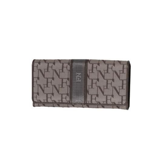 FN BAG BY FLYNOW กระเป๋าสตางค์สำหรับผู้หญิง 1308-24-013-066 สีน้ำตาล