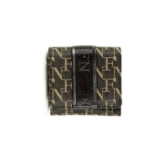 FN BAG BY FLYNOW กระเป๋าสตางค์สำหรับผู้หญิง 1308-24-015-011 สีดำ