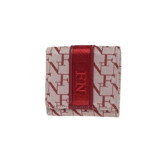 FN BAG BY FLYNOW กระเป๋าสตางค์สำหรับผู้หญิง 1308-24-015-065 สีแดง