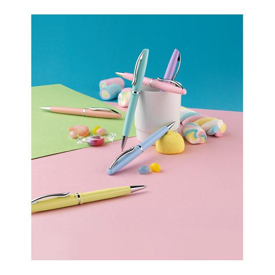 Pelikan ปากกาลูกลื่น Jazz Pastel Rose (แถมฟรี! ซองผ้าสักหลาด)