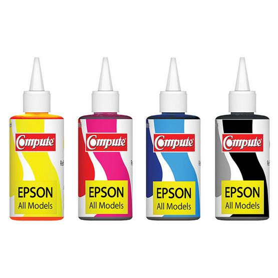 Compute หมึกเติม รุ่น Pack 4 colour For Epson