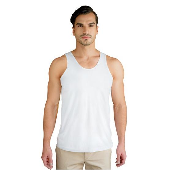 Double Goose ตราห่านคู่ เสื้อกล้าม รุ่นคลาสสิก สีขาว แพ็ค 6 ตัว