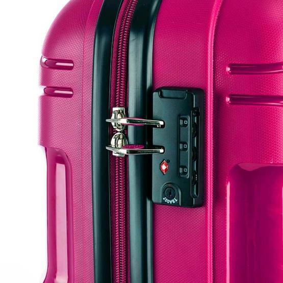 KAMILIANT กระเป๋าเดินทาง รุ่น MAPUNA ขนาด 24 นิ้ว SPINNER 67/24 TSA สี DARK MAGENTA